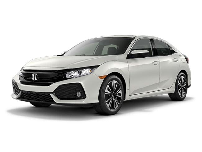 New 2018 Honda Civic EX-L w/Navi Hatchback SHHFK7H7XJU408117 for sale in Davis, CA near Sacramento