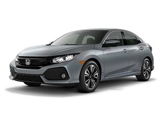New 2018 Honda Civic EX CVT Hatchback JU229143 for sale near Fort Worth TX