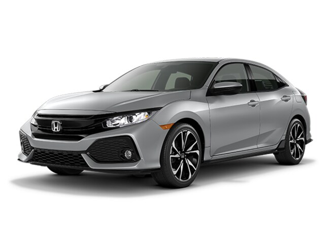 New 2018 Honda Civic SPORT Hatchback 6 speed manual in Augusta