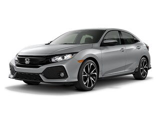 New 2018 Honda Civic Sport Hatchback 00H80382 near San Antonio