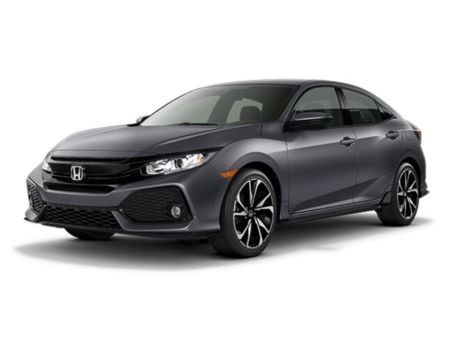 New 2018 Honda Civic HATCH SPORT Hatchback continuously variable automatic in Augusta