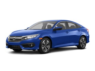 New 2018 Honda Civic EX-L Sedan Hopkins