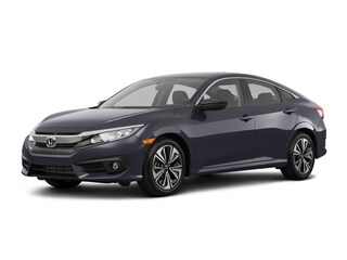 New 2018 Honda Civic EX-L Sedan Hopkins