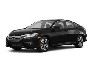 New 2018 Honda Civic EX-L w/Navi Sedan 00H81547 near San Antonio