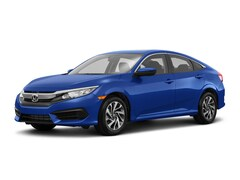 New 2018 Honda Civic EX Sedan 18538 for Sale in Springfield, IL, at Honda of Illinois