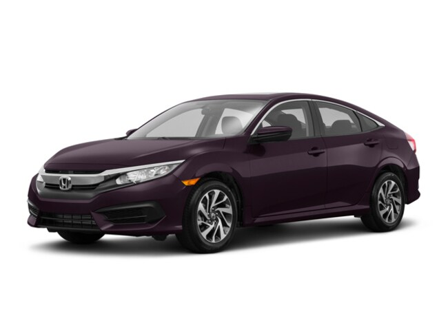 New 2018 Honda Civic EX Sedan in Lockport, NY