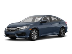 New 2018 Honda Civic EX Sedan 2HGFC2F79JH586312 for sale in Terre Haute at Thompson's Honda