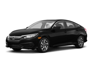 New 2018 Honda Civic EX CVT Sedan JH574365 for sale near Fort Worth TX