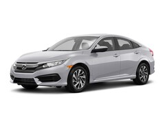 New 2018 Honda Civic EX Sedan 2HGFC2F7XJH551004 for sale in Terre Haute at Thompson's Honda
