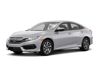 New 2018 Honda Civic EX Sedan Ames, IA