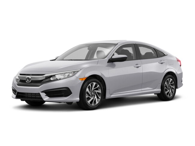 New 2018 Honda Civic EX Sedan for sale in Stockton, CA at Stockton Honda