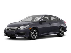 New 2018 Honda Civic EX Sedan 281981H for Sale in Westport, CT, at Honda of Westport