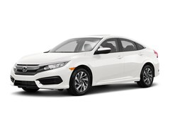 New 2018 Honda Civic EX Sedan 19XFC2F77JE201355 for sale in Davis, CA