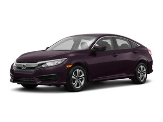 2018 Honda Civic LX Manual Sedan McKinney