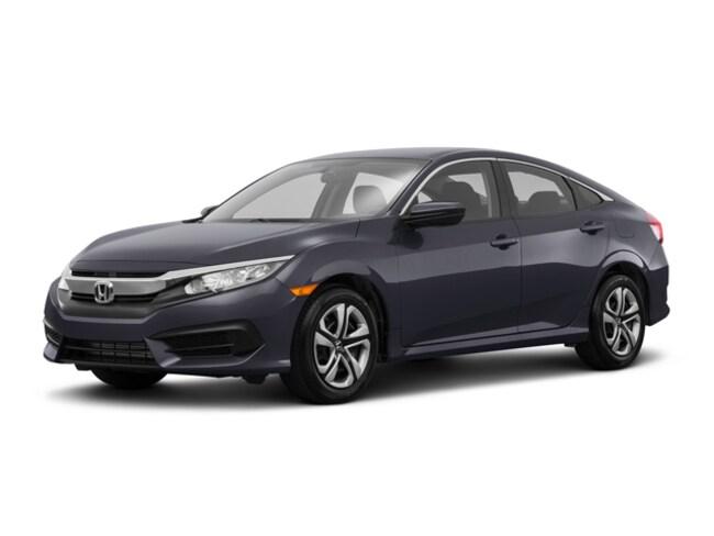 New 2018 Honda Civic Sedan Lx Modern Steel Metallic For Sale