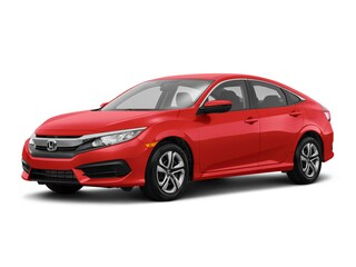 New 2018 Honda Civic LX Sedan 184666S in Westborough, MA