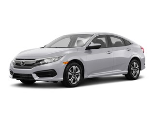 New 2018 Honda Civic LX Sedan Burlington MA