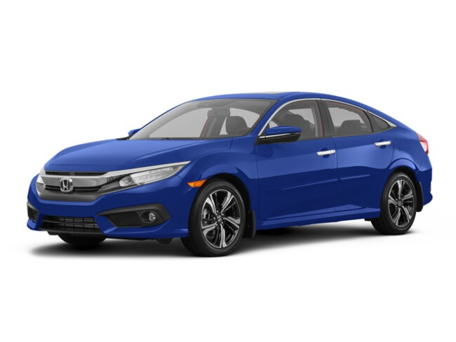 new 2018 honda civic touring aegean blue met for sale in downingtown pa stock 181023 r. Black Bedroom Furniture Sets. Home Design Ideas