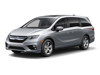 New Honda vehicles 2018 Honda Odyssey EX-L Van for sale near you in Boston, MA