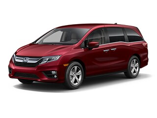 New 2018 Honda Odyssey EX Minivan/Van 5FNRL6H57JB105557 for sale in Latham, NY at Keeler Honda