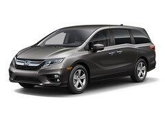 New 2018 Honda Odyssey EX Van 5FNRL6H52JB104459 for Sale in Clinton Township at Jim Riehl's Friendly Honda