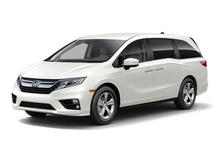 New 2018 Honda Odyssey EX Minivan/Van 5FNRL6H50JB091629 for sale in Latham, NY at Keeler Honda