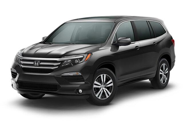 New 2018 Honda Pilot EX-L w/Honda Sensing AWD SUV 5FNYF6H62JB006186 for sale in Davis, CA near Sacramento