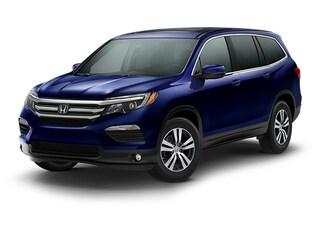 New 2018 Honda Pilot EX-L SUV 5FNYF6H56JB025993 for sale in Latham, NY at Keeler Honda