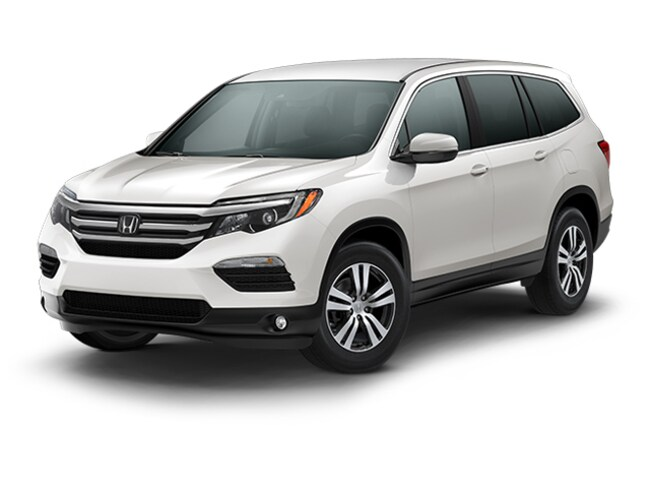 New 2018 Honda Pilot EX SUV for sale in Huntington NY on Long Island.