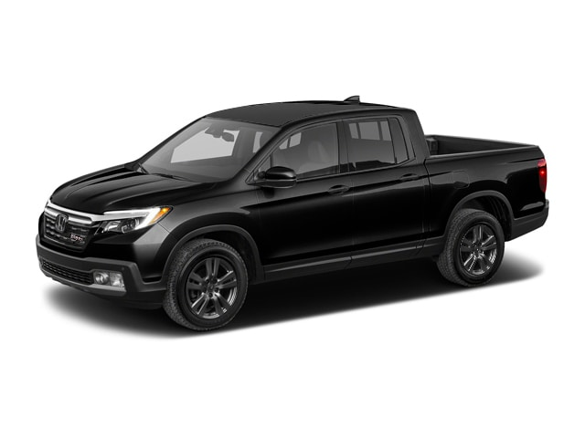 New 2018 Honda Ridgeline Sport Fwd Crystal Black Pearl For Sale In