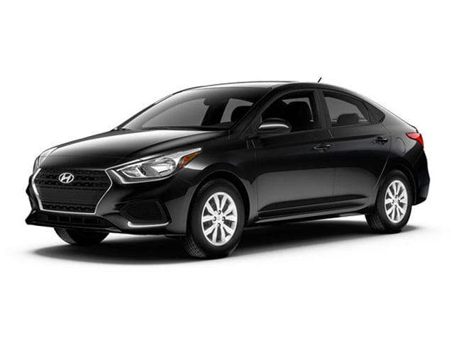 2018 Hyundai Accent Sedan Absolute Black
