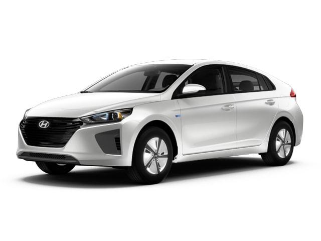 2018 Hyundai Ioniq Hybrid SEL Hatchback Ceramic White