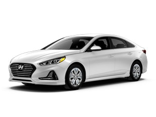2018 Hyundai Sonata Hybrid Sedan Skyline Blue