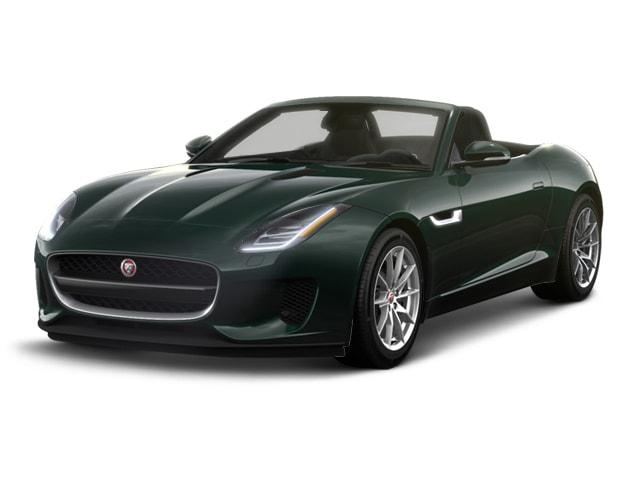 2018 Jaguar F TYPE Convertible British Racing Green Metallic