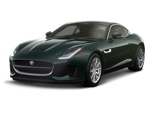 2018 Jaguar F TYPE Coupe British Racing Green Metallic