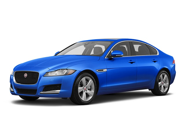2018 Jaguar XF Sedan Caesium Blue Metallic