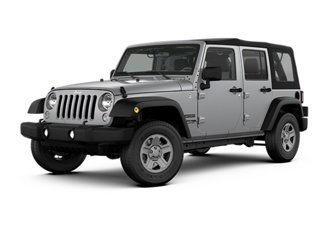 New 2018 Jeep Wrangler JK Unlimited SUV Boise