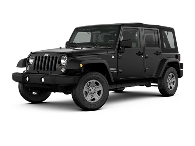 New 2018 Jeep Wrangler JK Unlimited Sport 4x4 SUV near White Plains