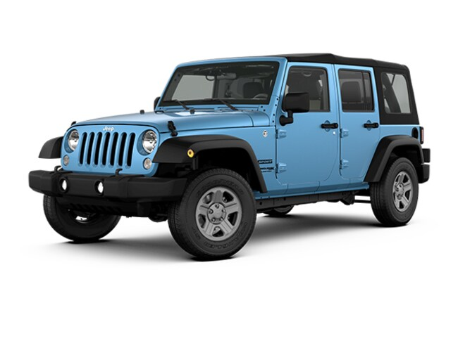 New 2018 Jeep Wrangler JK UNLIMITED SPORT 4X4 Sport Utility in Harlingen