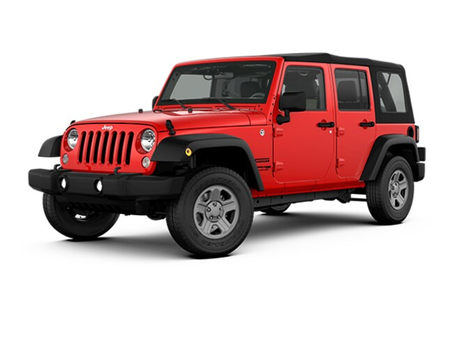 New 2018 Jeep Wrangler JK UNLIMITED SPORT S 4X4 Sport Utility in Harlingen