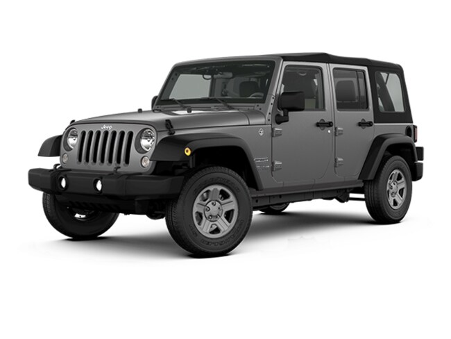 New 2018 Jeep Wrangler JK Unlimited Sport 4x4 SUV North Kinigstown