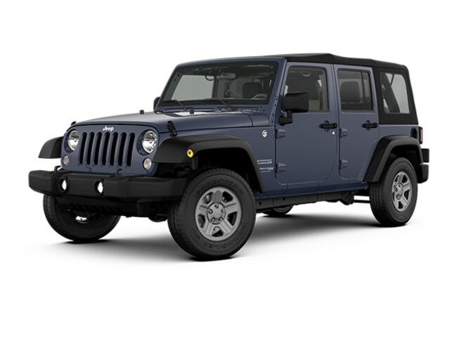 New 2018 Jeep Wrangler JK Unlimited Sport 4x4 SUV near Fairfax