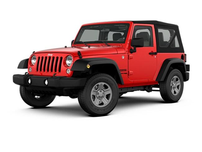 New 2018 Jeep Wrangler JK Sport 4x4 SUV for sale in Plattsburgh, NY