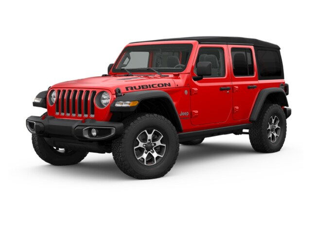 New 2018 Jeep Wrangler UNLIMITED RUBICON 4X4 Sport Utility Denver