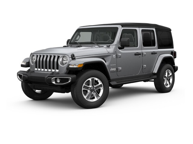 Pre Owned 2018 Jeep Wrangler Unlimited Sahara SUV in Greenville, NC