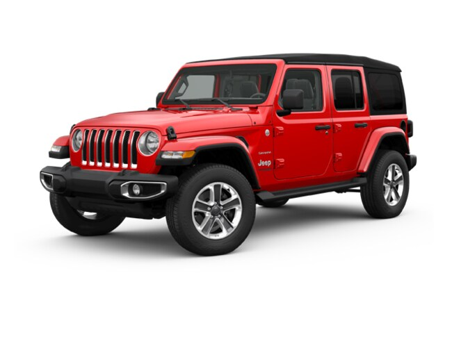 New 2018 Jeep Wrangler UNLIMITED SAHARA 4X4 Sport Utility in LaGrange, IN