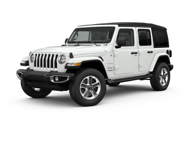 New 2018 Jeep Wrangler Unlimited Sahara 4x4 SUV in Saint Joseph