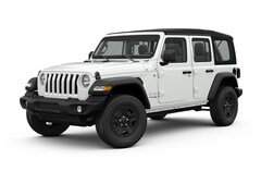 New 2018 Jeep Wrangler UNLIMITED SPORT S 4X4 Sport Utility 1C4HJXDG6JW129911 for sale in Devils Lake at Devils Lake Chrysler Center
