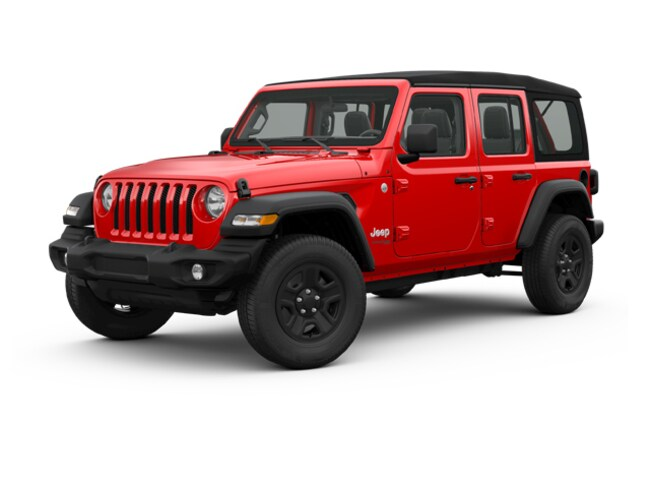 New 2018 Jeep Wrangler UNLIMITED SPORT S 4X4 Sport Utility for sale in Danville, IL