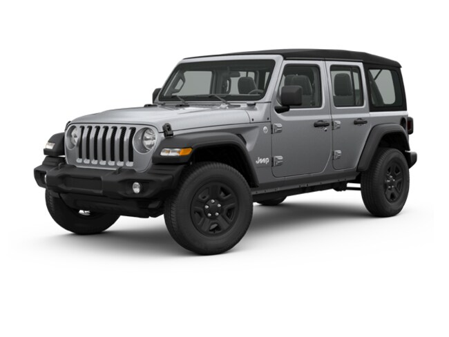 New 2018 Jeep Wrangler UNLIMITED SPORT S 4X4 Sport Utility Silver Spring